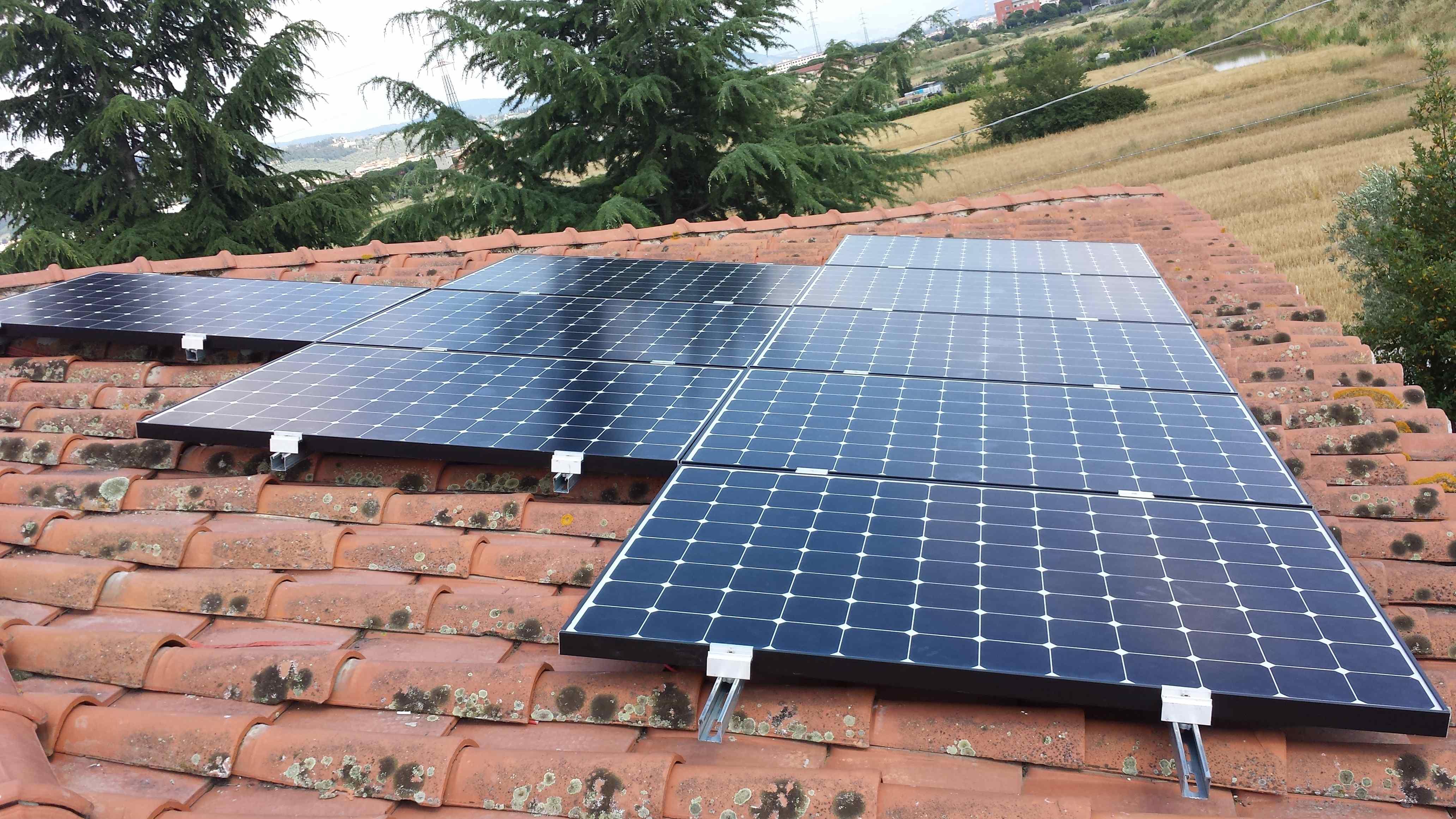 Accumulo Batterie Impianto Fotovoltaico SunPower a Sesto ...